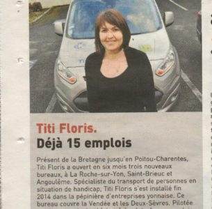 Titi Floris. Déjà 15 emplois
