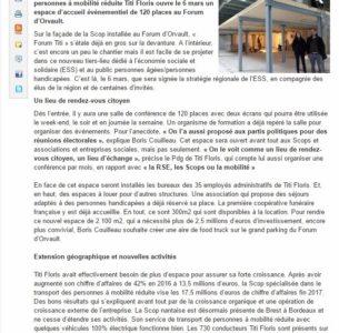 La scop Titi Floris ouvre un espace événementiel