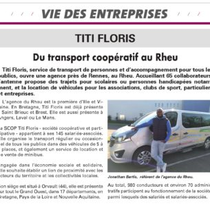 Du transport coopératif au Rheu