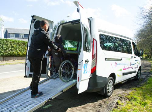 minibus adapté TPMR
