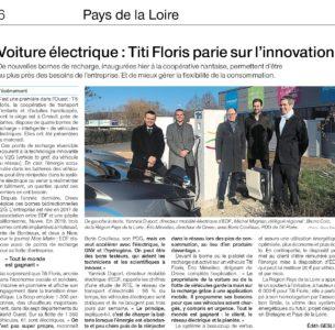 Voiture électrique : Titi Floris parie sur l'innovation