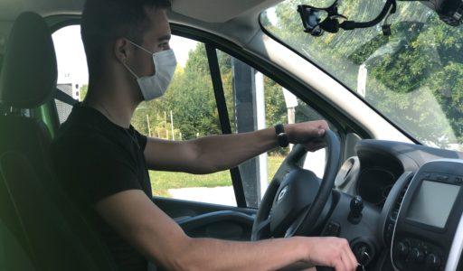 Titi Floris masque conducteur COVID rentrée