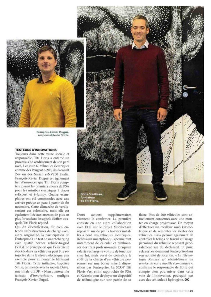 Le modèle à part de Titi Floris - Journal des Flottes