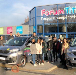 Titi Floris, premier client du Peugeot e-Expert minibus