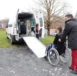 Concours : Don d'un véhicule adapté TPMR à une association